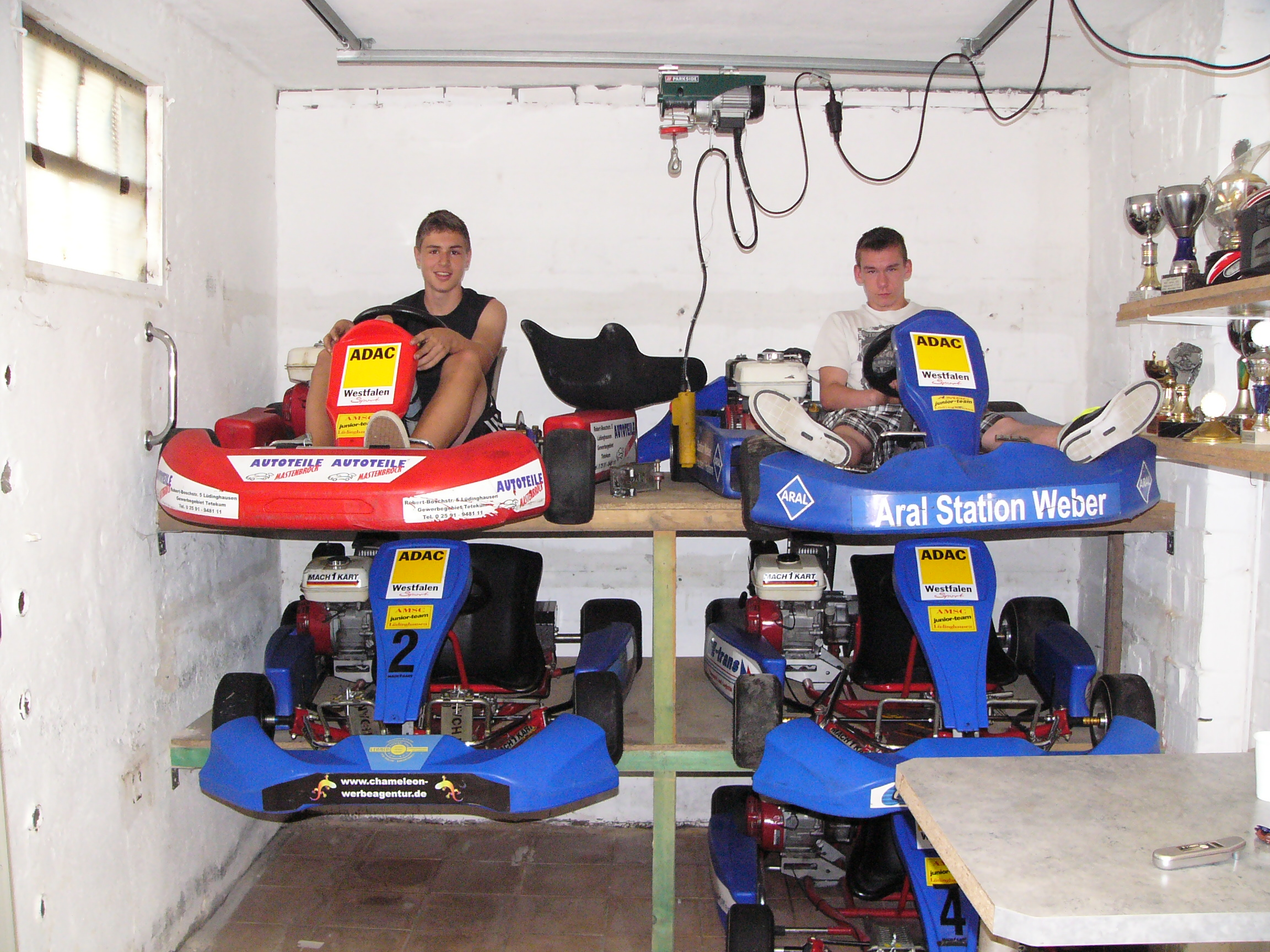 AMSC Junior Team Garage